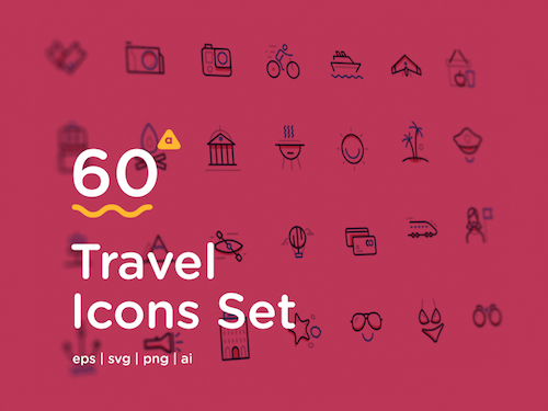 60 Travel Icons To Awaken Your Wanderlust